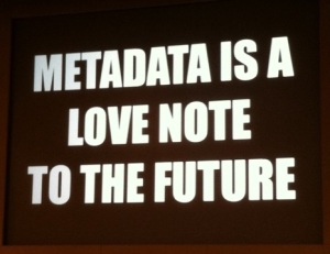 metadata love note